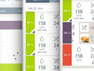 Dario misc screens app mobile clinic ui ux icons medicine