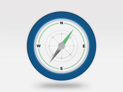 Compass compass illustration flat vector