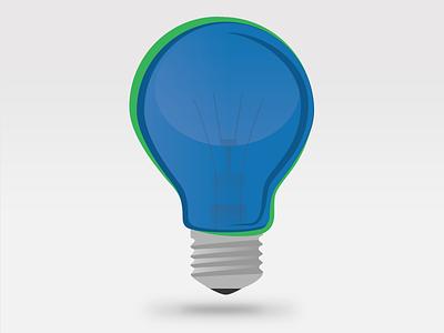 Lightbulb lightbulb illustration vector flat