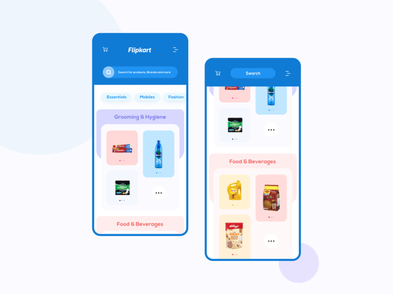 Flipkart | Online Shopping App | Redesign logo iphone web design graphic mobile product design concept redesign ux app design branding application ui minimal