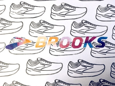 Day 18: playing around with the Brooks logo
