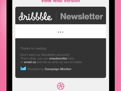 Tweaking the Newsletter