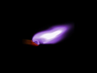 A mighty flame followeth a tiny spark.