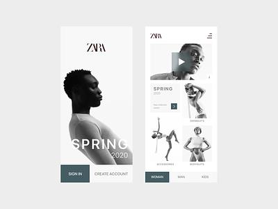 Minimal Store App ui design uxdesign web interactiondesign interaction ui uitrends uidesign inspiration designinspiration minimal