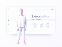 Sleepwalker Minimal Inspiration Web Design