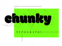 😇 Chunky type (free vector textures!)