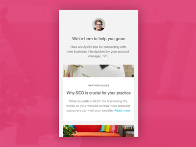 Email design email