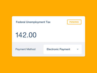 Xero features illustration card tax