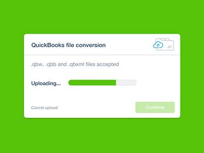 Quickbooks conversion illustration