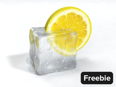 Free 3D Scene for 3ds Max & V-Ray 3d ice 3d bundle icon icons vray 3ds max 3dsmax free freebie lemon summer