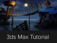 Tutorial: Create a Monkey Island like scene using 3ds Max & VRay