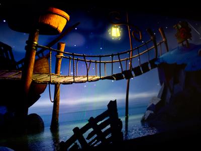 Monkey Island Tribute monkey island background fanart 3d design 3d art 3d studio max vray cg