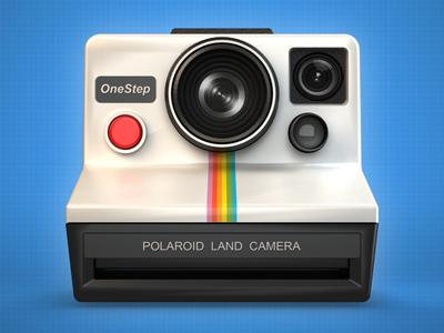 Polaroid OneStep Camera Icon