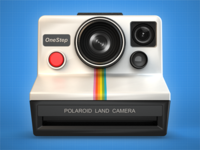 Polaroid OneStep Camera Icon