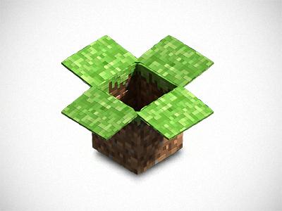 Dropbox Minecraft Icon dropbox minecraft icon icons