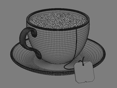 WIP - Tea Cup of Pixels
