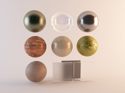 Playing with materials