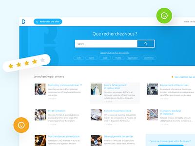 Barterlink - Case study website ui case study