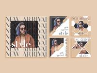 Apparel Store Instagram Advertisement