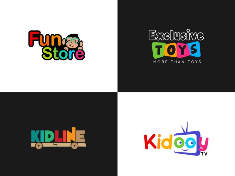 Fun Kids Logo by Athira Jayachandran on Dribbble