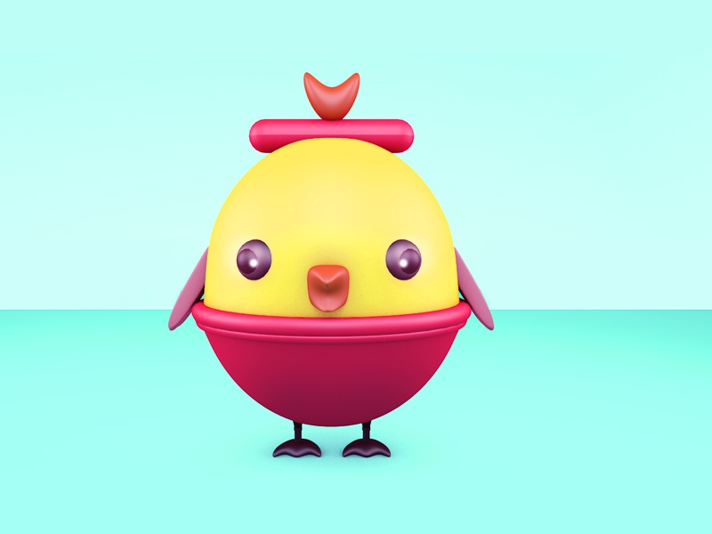 chick c4d chick 插图