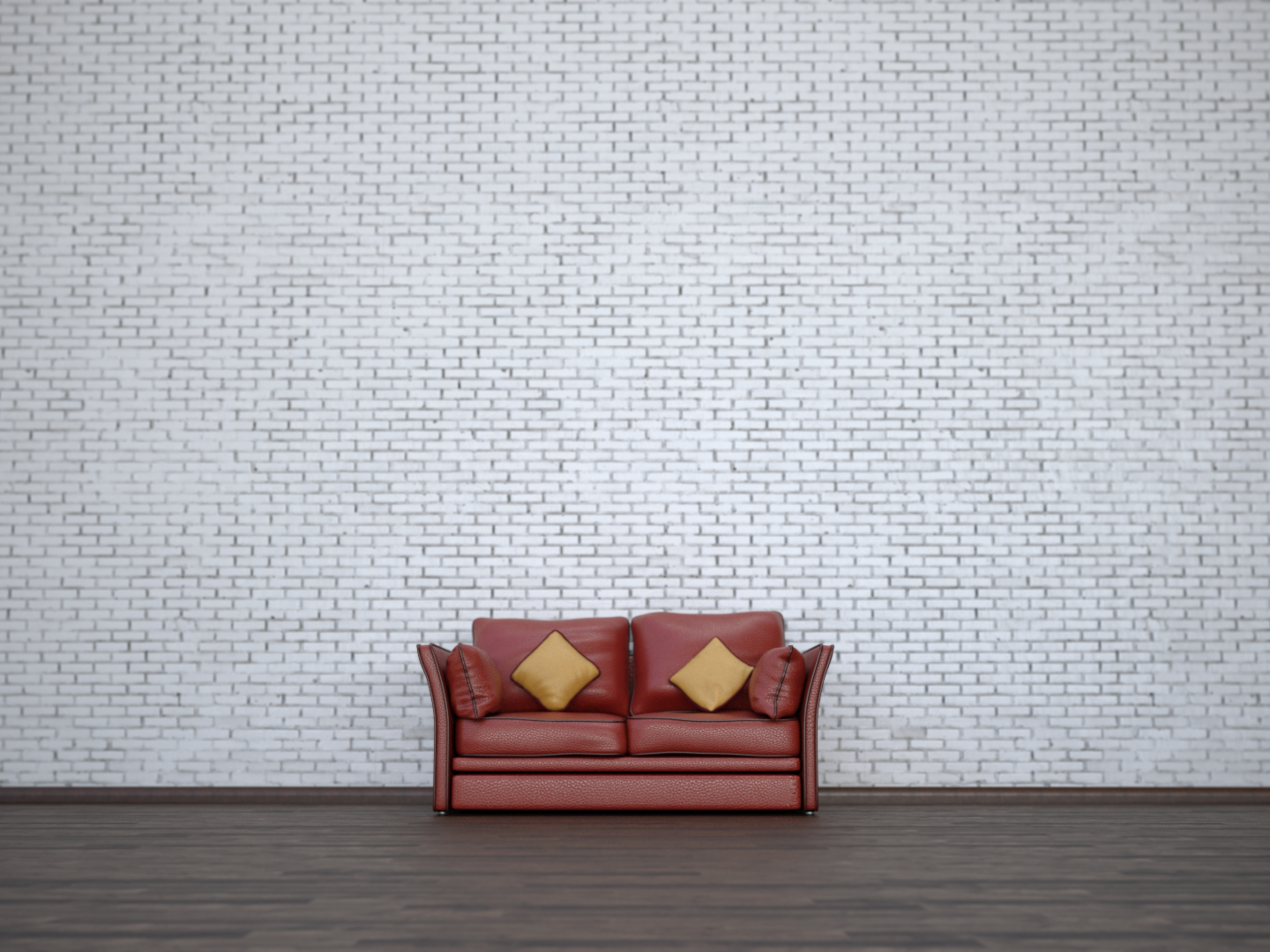 Leather Sofa By Happy Whale On Dribbble