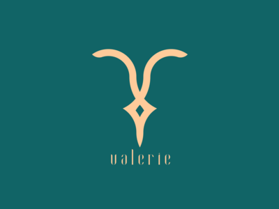 Valerie | Logo concept for a luxury brand