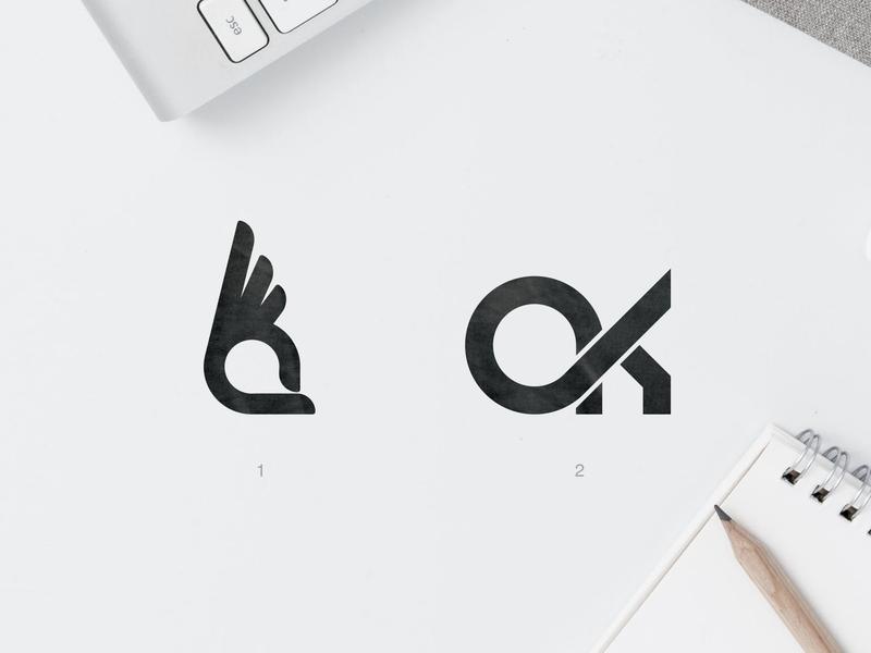Ok Capa | Logo Design business check mark ok logo smartphones monogram letter mark monogram logo monogram flat branding minimalist vector logotype brand logodesign logo graphic  design design