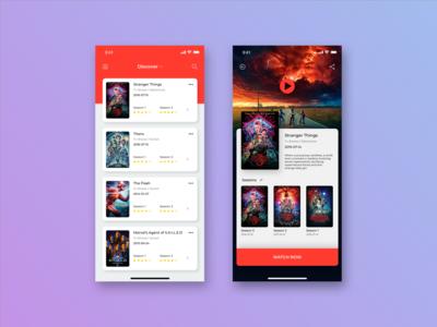 Movies App Design