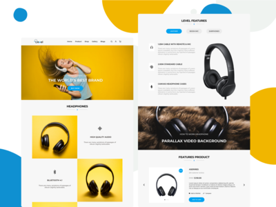 Level - Product Page Design