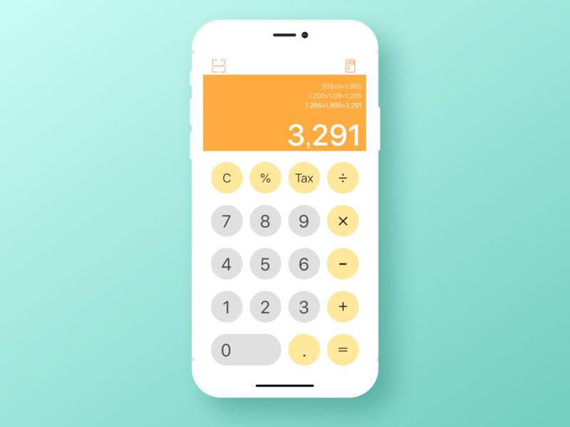 Calculator uidesign japanese figma calculator