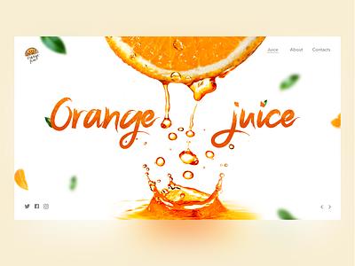 Juice 1 juicy juce creative design color web ui design concept