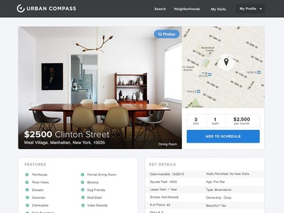 Listing Page - Urban Compass