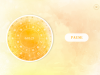 DailyUI #014 - A Chinese style countdown timer