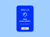 DailyUI #016 pop-up overlay