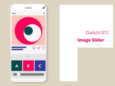 DailyUI  #072 Image Slider