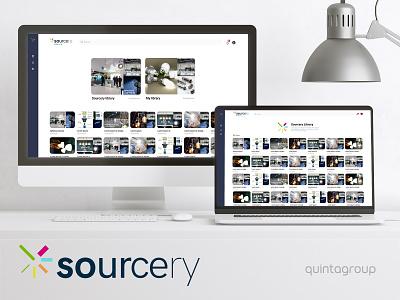 Sourcery libraries lighting platform graphic design uiux ux illustration ui design