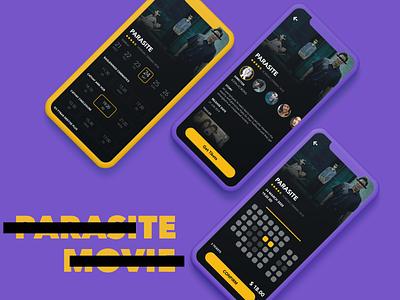 POPCORN Redesign redesign movie ui app icon design
