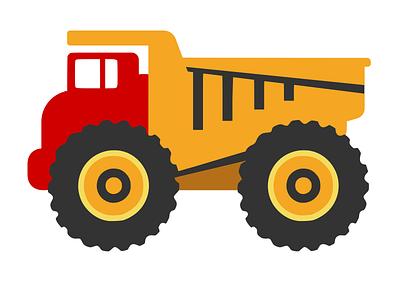 Bigtruck.io logo - Truck only branding toy truck logo truck