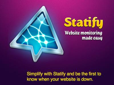 Statify website web app monitoring