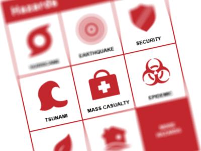 Hazards Box html navigation css3 jquery icons ui