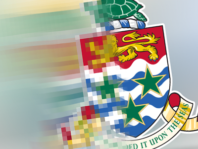 Digitized Cayman Islands Crest digital cayman crest design web icon logo