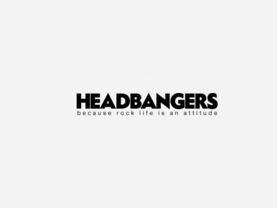 Headbangers logo graphicdesign logo designagency design branding
