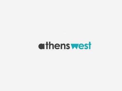 Athenswest News portal logo logo graphicdesign designagency design branding
