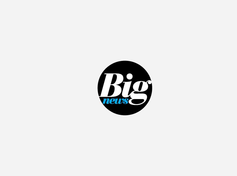 Big News logo graphicdesign logo designagency design branding