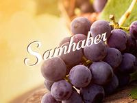 Samhaber Fruit Shop Logo