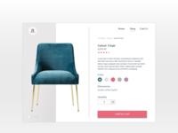Daily UI Challenge #012 - E-Commerce Shop