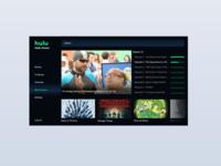 Daily UI Challenge #025 - TV App
