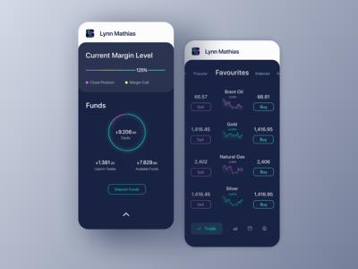 Dark App for Traders
