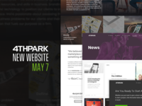 4THPARK: New Website (May 7th)